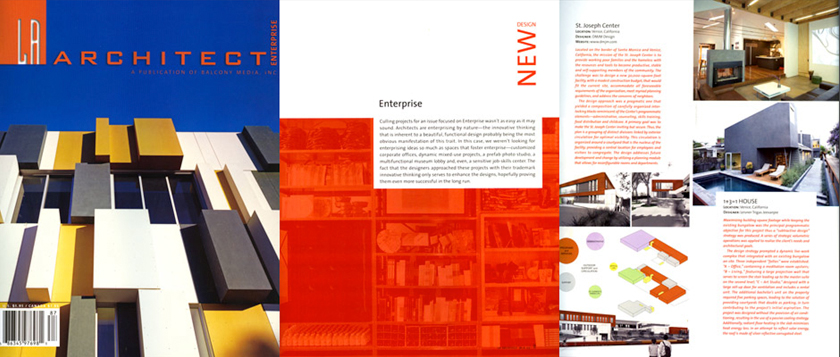 1+3=1 House – L.A. Architect Mag.